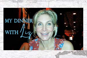 Our Dinner With Elizabeth Mitchell