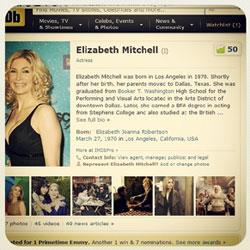 ELIZABETH MITCHELL TOP 50
