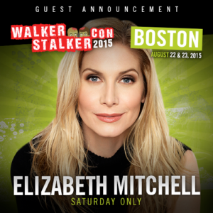 Walker Stalker Con august boston